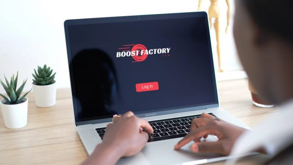 boost factory laptop view