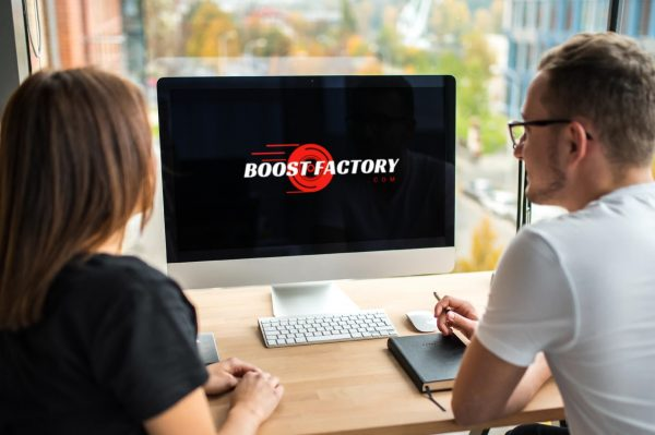 boost factory desktop view