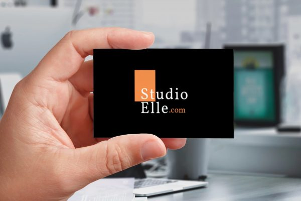 studio elle business card view