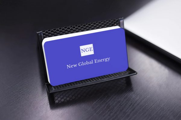 New global energy card view