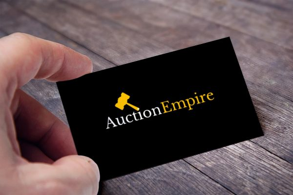 auction empire business card view