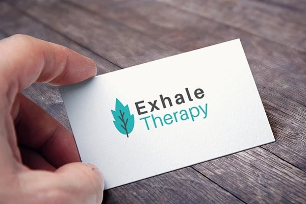 exhale therapy card view