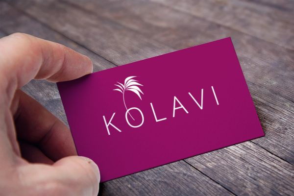 kolavi business card view