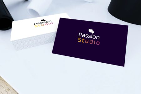 passion studio card view