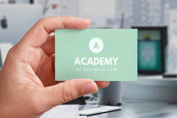 academyofbusiness card view