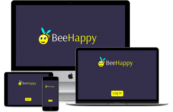 Bee Happy Multidevices View