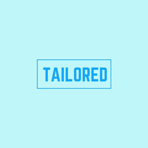 tailored