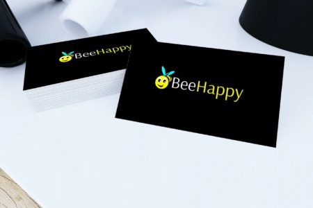 Bee Happy Card View