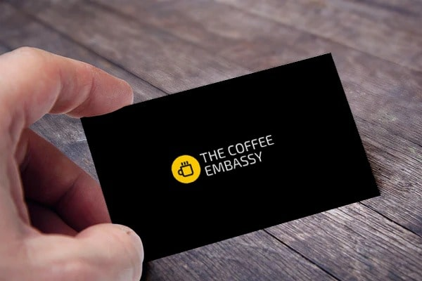 the coffee embassy card view