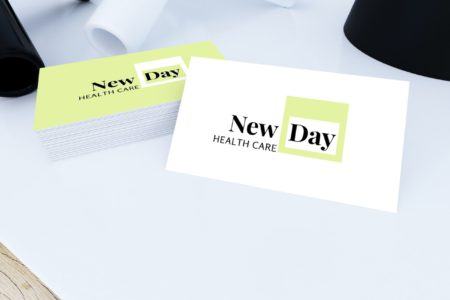 new day health care card view
