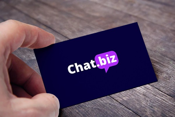 chat.biz card view