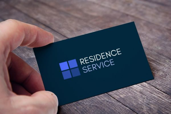 Residence Service Business Card View