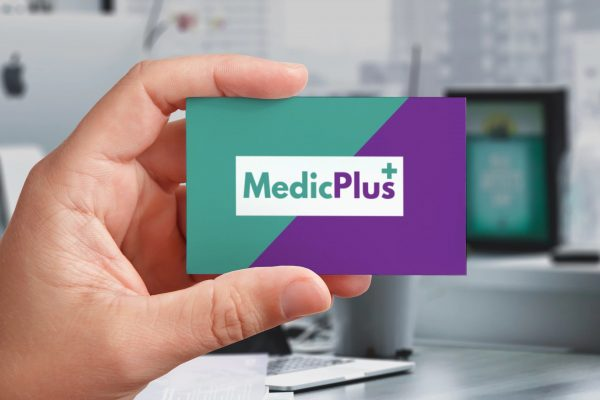 Medic Plus Businesscard view