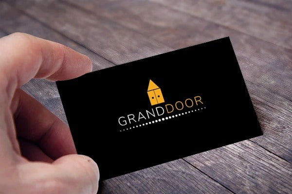 grand door black view