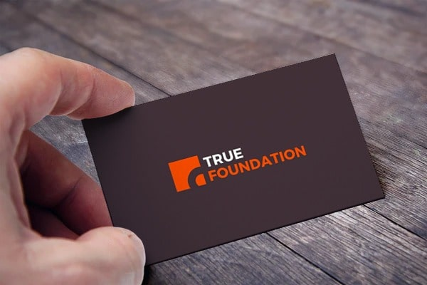 true foundation card view