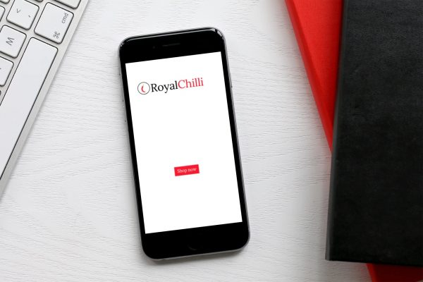 royal chilli phone logo