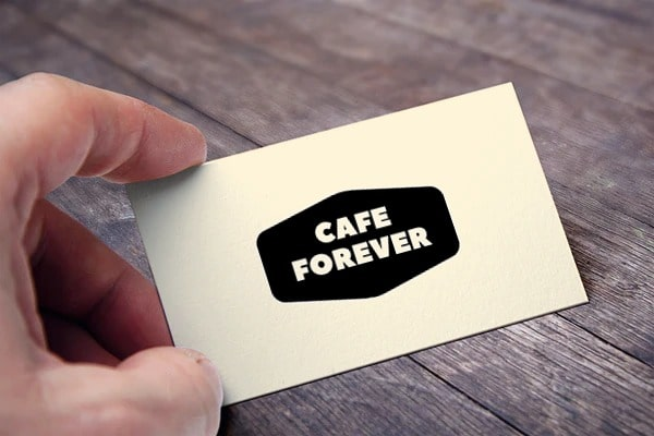 cafe forever card view