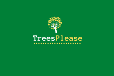 trees please logo