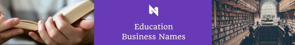 business name ideas for education