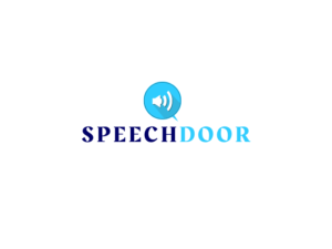 Speech door white