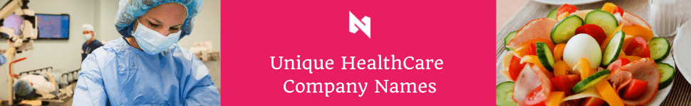 health care name ideas for companies