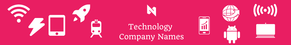technology names for companies